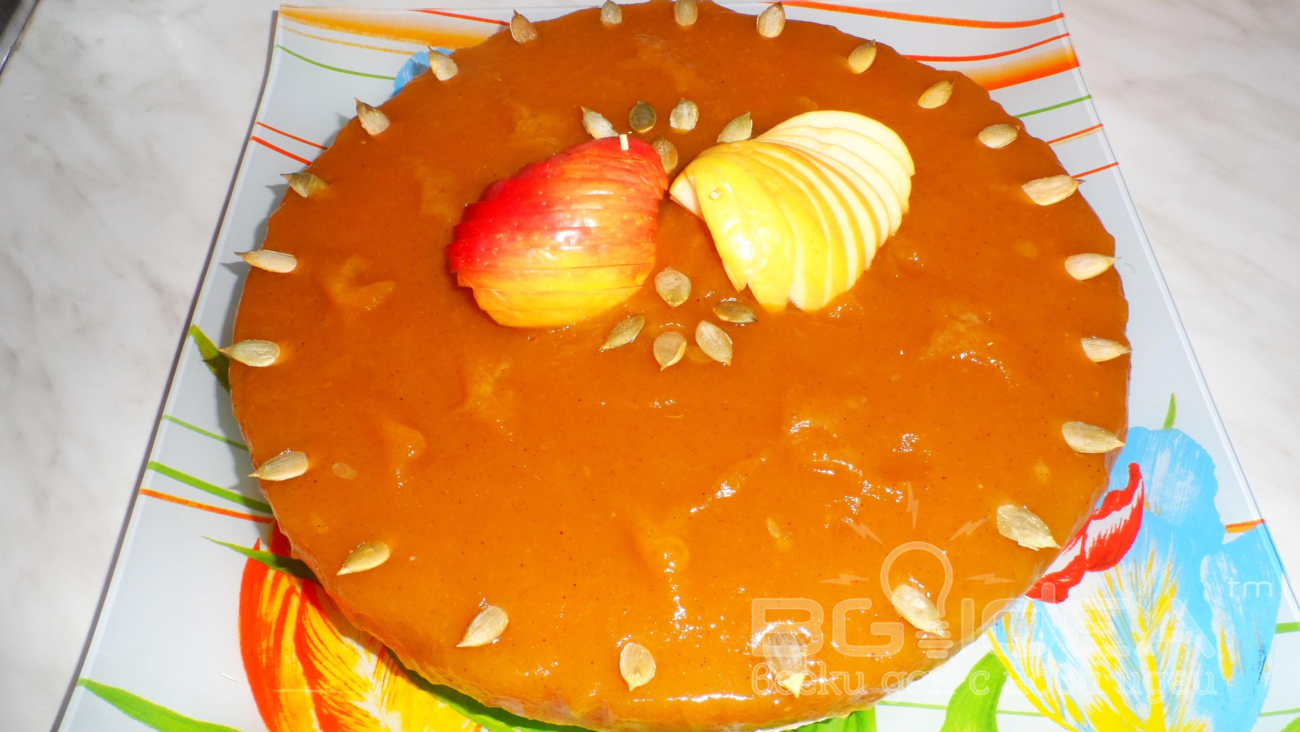 Торта с маскарпоне и тиква